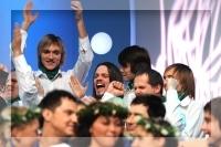 Koru karu 2 pusfināls - pagaidām neliels ieskats Madonas kora emocijās dažās fotogrāfijās jeb bildēs no pasākuma Rīgas Kinostudijā 15.novembrī