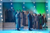 Koru kari 2  - televīzijas dziedāšanas šovs - šoreiz bildes tikai no Madonas kora uzstāšanās<br>